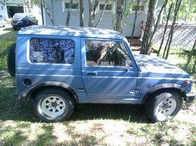 Suzuki SJ, Vaihtoauto