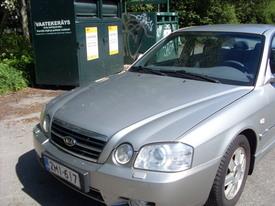 Kia Magentis, Vaihtoauto