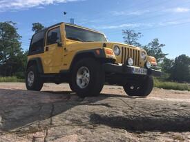 Jeep Wrangler, Vaihtoauto
