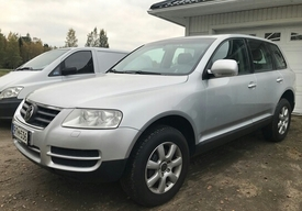 Volkswagen Touareg, Vaihtoauto
