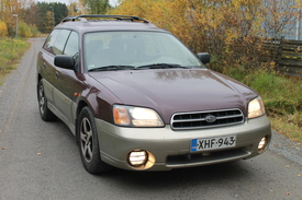Subaru Outback, Vaihtoauto