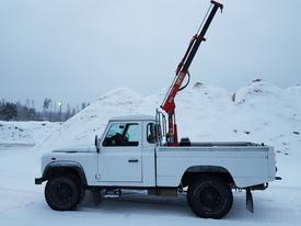 Land Rover Defender, Vaihtoauto