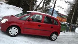 Opel Meriva, Vaihtoauto