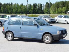 Fiat Uno, Vaihtoauto