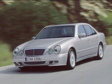 Autoesittely Mercedes-Benz E-sarja (1995-2000)