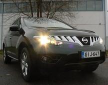 Autoesittely Nissan Murano 2010-2011
