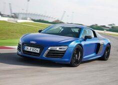 Autoesittely Audi R8 2013