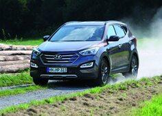 Autoesittely Hyundai Santa Fe 2013