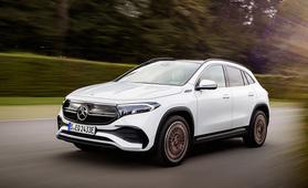 Mercedes-Benz EQA sähköistää kompaktin premiumluokan – kulkee täydellä latauksella jopa 424 kilometriä