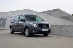 Autoesittely Mercedes-Benz Citan 2013