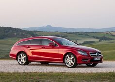 Autoesittely Mercedes-Benz CLS Shooting Brake 2013
