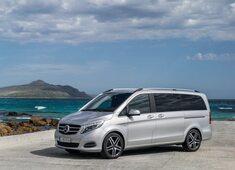 Autoesittely Mercedes-Benz V-sarja 2014