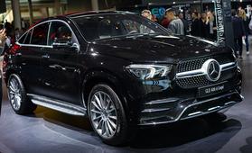 Mercedes-Benz GLE Coupé – luksusluokan menopeli kilpailee BMW X6:n kanssa