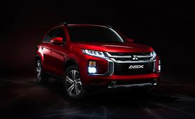 Suosittu Mitsubishi ASX uudistuu – aiempaa ärhäkämmin muotoiltu