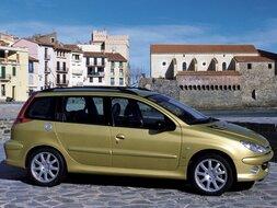 Autoesittely Peugeot 206 SW 2002