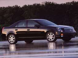 Autoesittely Cadillac CTS (2003)