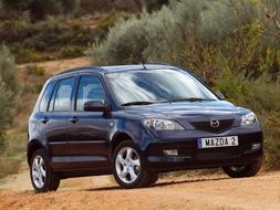 Autoesittely Mazda Mazda2 2004