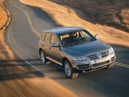 Autoesittely Volkswagen Touareg 2004