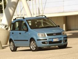 Autoesittely Fiat Panda 2008