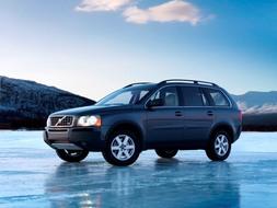 Autoesittely Volvo XC90 2005