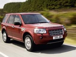 Autoesittely Land Rover Freelander 2 2008