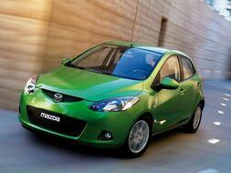 Autoesittely Mazda Mazda2 2009