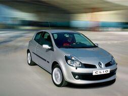 Autoesittely Renault Clio 2008