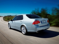 Autoesittely Saab 9-5 2008