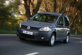 Autoesittely Volkswagen Caddy 2012