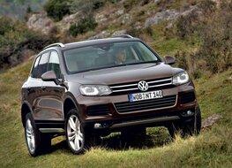 Autoesittely Volkswagen Touareg 2010-2011
