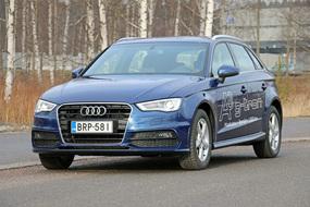 IL koeajo ja arvio: Audi A3 g-tron 1,4 TFSi CNG S tronic