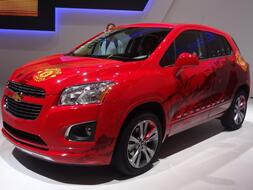 Pariisin autonäyttely 2012: Chevrolet