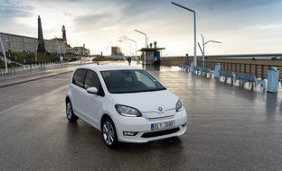Koeajossa Skoda CITIGOe iV -täyssähköauto – hinta-laatusuhde kunnossa