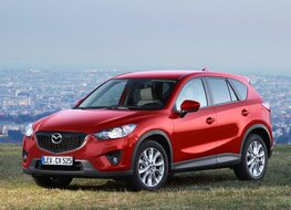 Autoesittely Mazda CX-5 2013