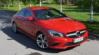 Koeajo Mercedes-Benz CLA 220 CDI BE A Premium Business 2013