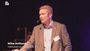 Katso ST1:n Mika Anttosen puheenvuoro innovaatioiden merkityksestä ilmastonmuutoksen hillitsemisessä Autoilun ja Liikkumisen tulevaisuus-seminaarista 13.2.2019