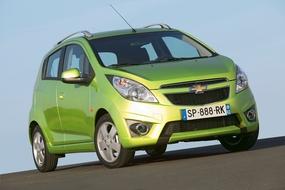 Autoesittely Chevrolet Spark (2010)