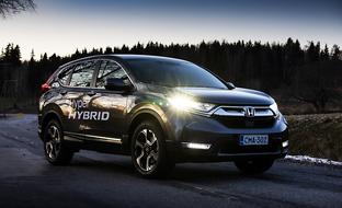 Onko tässä katumaastureiden järkevin hybriditoteutus? Honda CR-V Hybrid erottuu edukseen