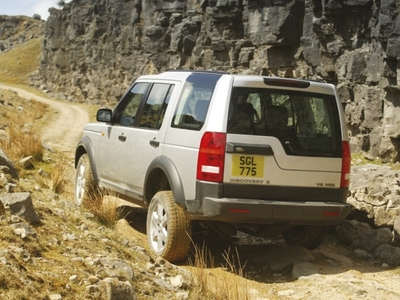 Autoesittely Land Rover Discovery 3 (2008)