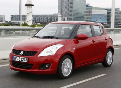 Autoesittely Suzuki Swift 2012