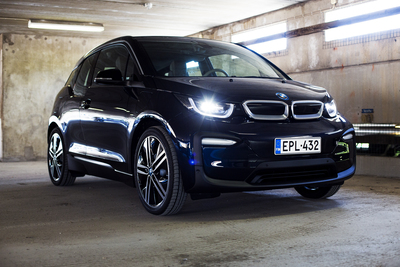 Koeajossa BMW i3 94 Ah Range Extender