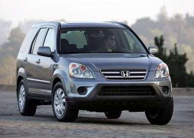 Autoesittely Honda CR-V 2002-2006