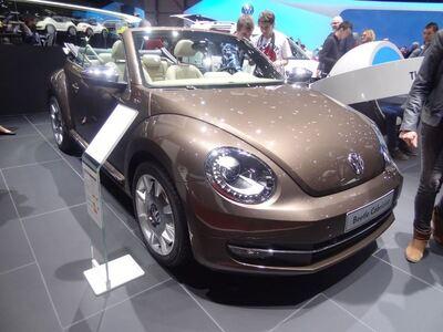 Geneven autonäyttely 2013: Volkswagen