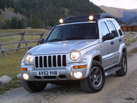 Autoesittely Jeep Cherokee (2002)