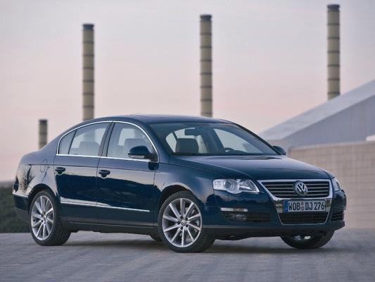 Autoesittely Volkswagen Passat 2005-2007