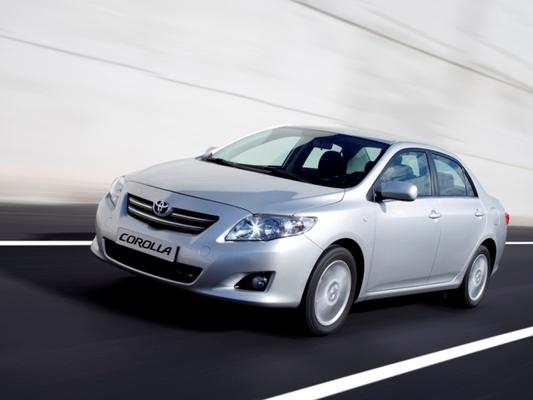 Autoesittely Toyota Corolla 2008-2009