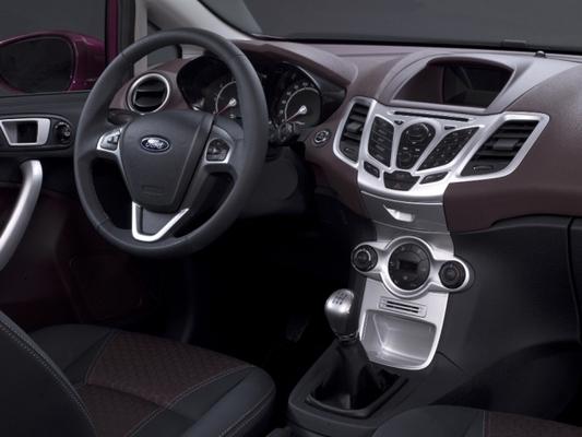 Autoesittely Ford Fiesta 2008-2009