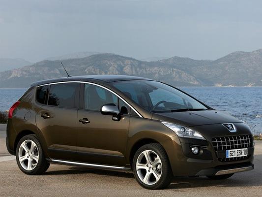 Autoesittely Peugeot 3008 2009-2010