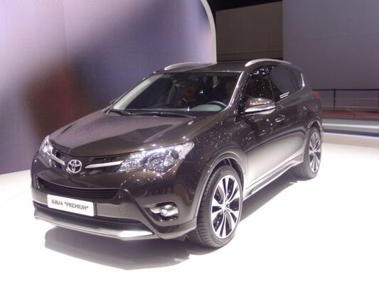 Geneven autonäyttely 2013: Toyota