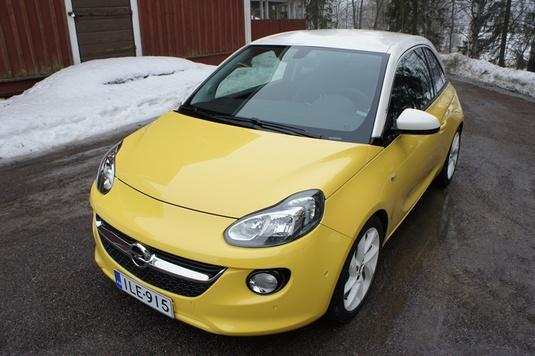 Koeajo Opel Adam Slam 1.4 ecoFLEX 2013